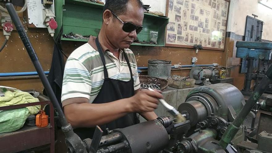 """""""La Casa de la Paloma"""", escuela de formación para camboyanos discapacitados"""