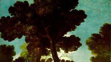 'Paseo por Andalucía', también conocido como 'La maja y los embozados', cartón para tapiz de Goya de 1777 conservado en el Museo del Prado, en el que retrata a los hombres con las prendas prohibidas por el bando de Esquilache.