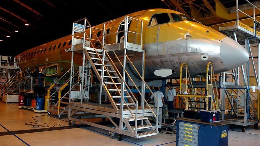 La sudafricana Airlink solicita otros once aviones a la brasileña Embraer