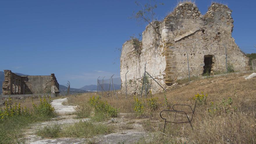 Una imagen del estado actual de la Torrealquería del Conde de Mollina, en Alhaurín de la Torre