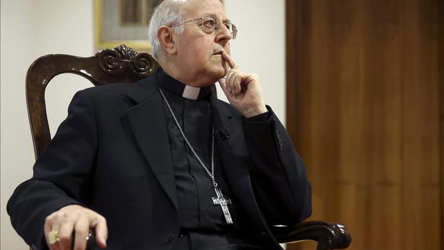 El presidente de la Conferencia Episcopal, el cardenal Ricardo Blázquez. / Efe