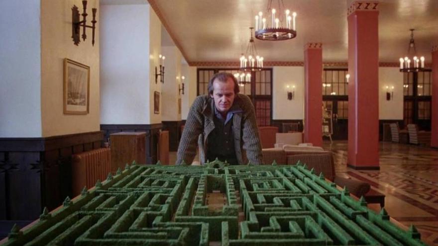Jack Torrance y el laberinto