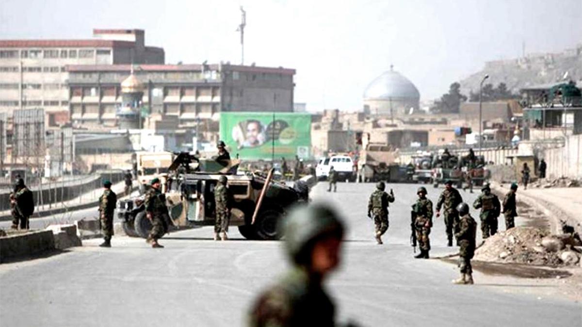 Kabul, militarizada e inmersa en una ola de violencia y terror.