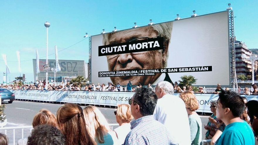 Imagen manipulada del cartel de Ciutat Morta