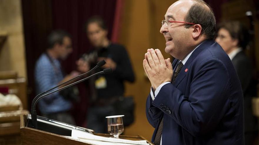 """Iceta exige a un Puigdemont """"temerario"""" que """"reconozca"""" que el 1-O no se hará"""
