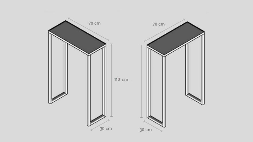 Medidas de mesas altas permitidas en distrito Centro   SOMOS MALASAÑA