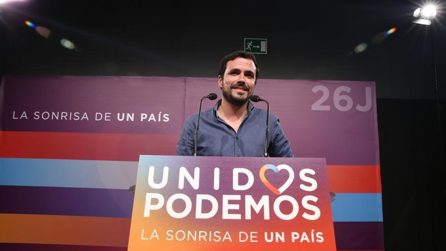"""Garzón augura una """"oportunidad histórica"""" para formar un gobierno progresista si se confirman las encuestas"""