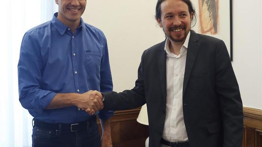 Sánchez se verá también con Garzón esta semana para ver vías de entendimiento