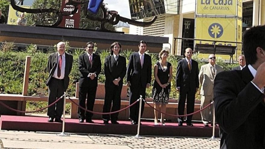 José Manuel Soria, en la inauguración de la bandera de 300 metros