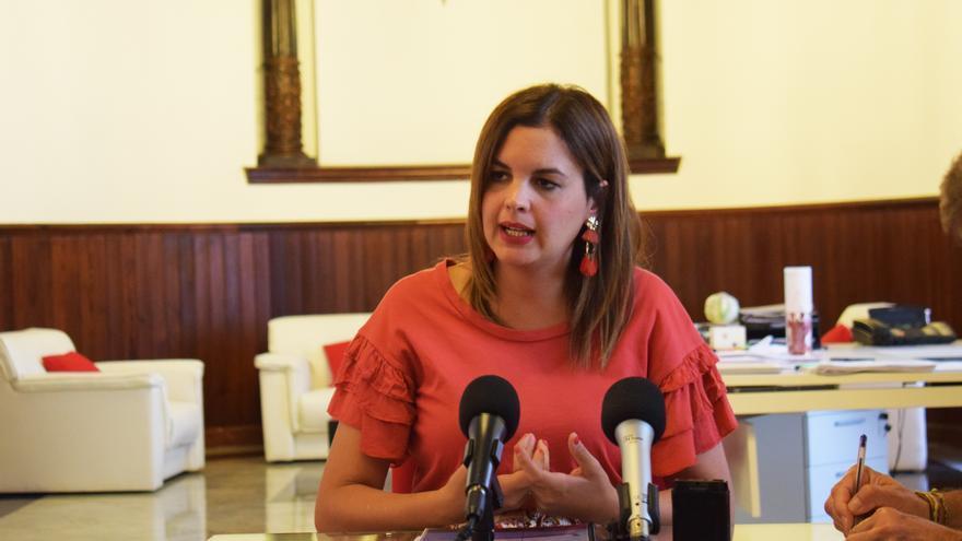 La concejala de Turismo, Sandra Gómez