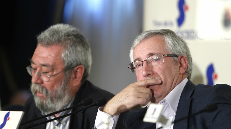 """Toxo y Méndez recuerdan que el Rey no gobierna y avisan de que no serán """"cómplices"""" del Ejecutivo"""