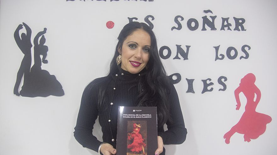 La bailaora y profesora Lola Pérez   TONI BLANCO