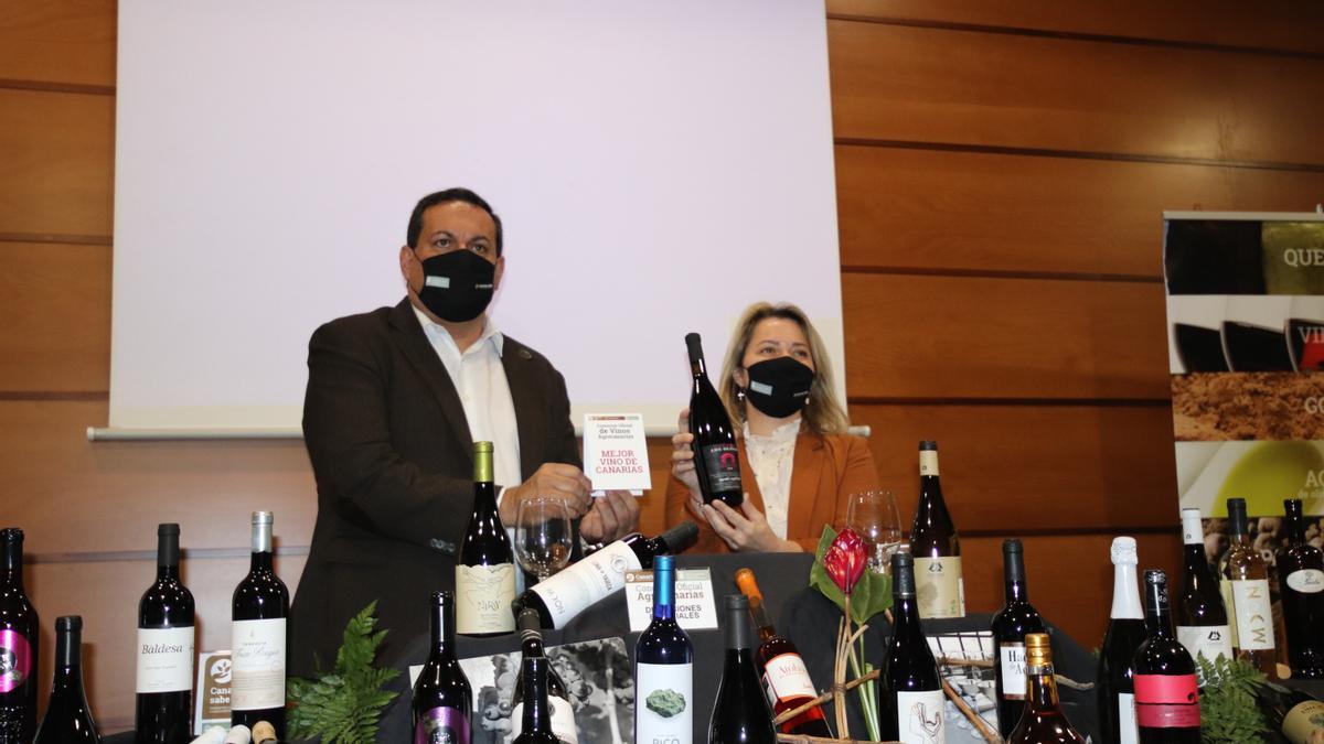 Ganador del concurso de Vinos Agrocanarias 2021