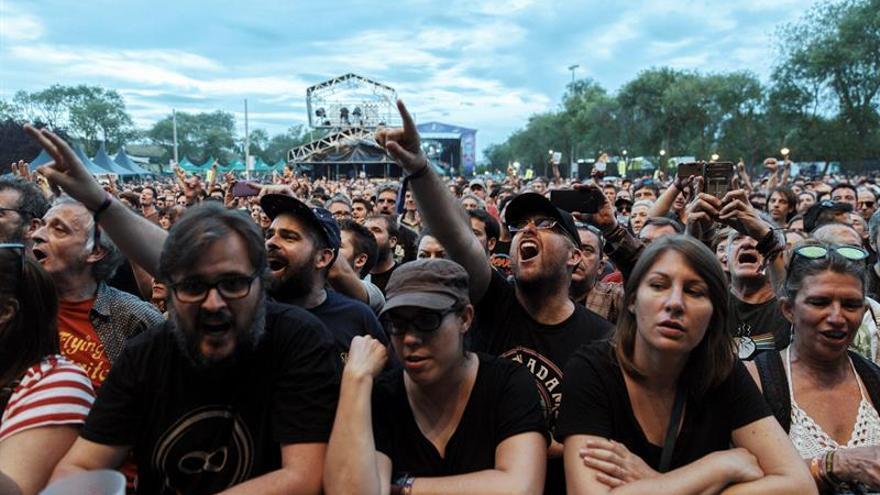 El Azkena Rock de Vitoria cierra su edición de 2019 con 36.000 asistentes