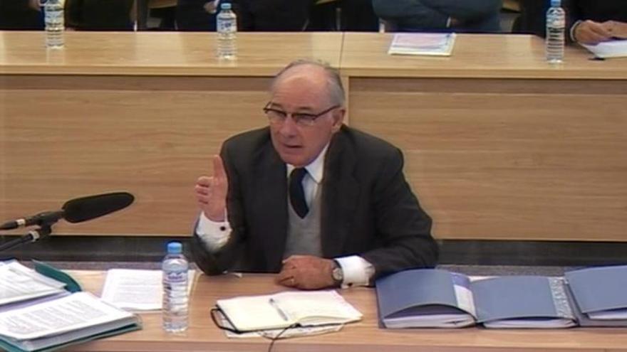 El abogado de Rato defiende que jamás hubo mala praxis bancaria en Bankia