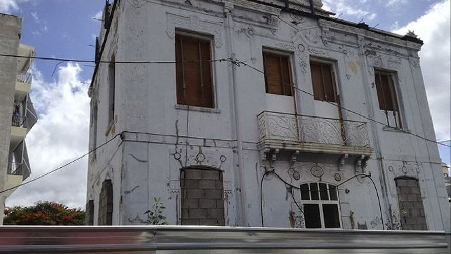 Imagen de archivo de la casa Siliuto, en Santa Cruz