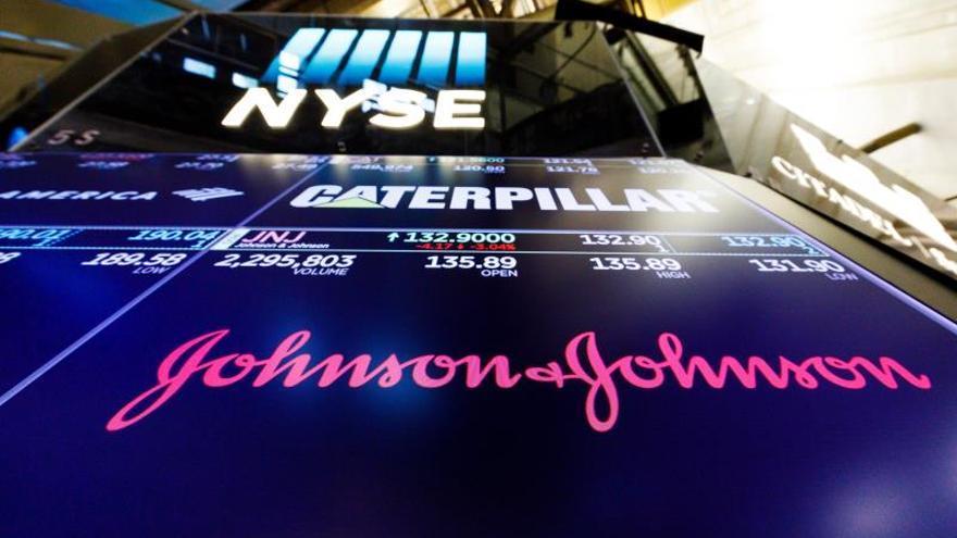 Imagen de la cotización bursátil de Johnson & Johnson