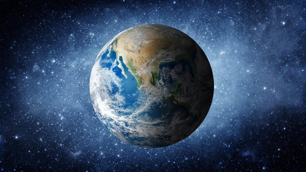 Planeta Tierra, desde el espacio