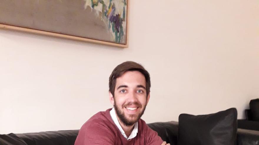 Fernando Navarro en las Corts Valencianes