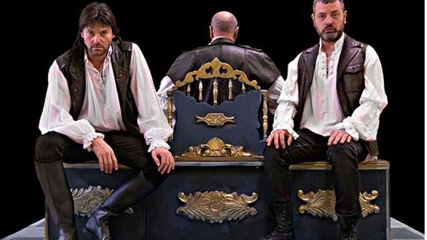 'El limpiaculos del rey' estreno en Sala Russafa