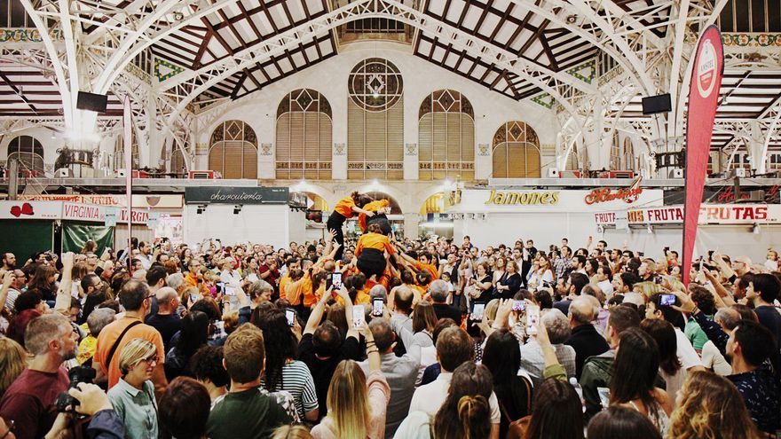 El Mercado Central repleto de visitantes