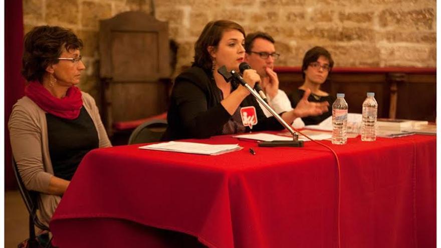 Debate sobre feminismo en Montpellier (Francia)