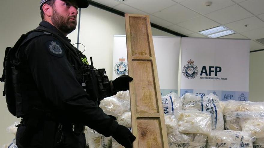 Decomisan en un almacén el mayor alijo de metanfetamina en Australia