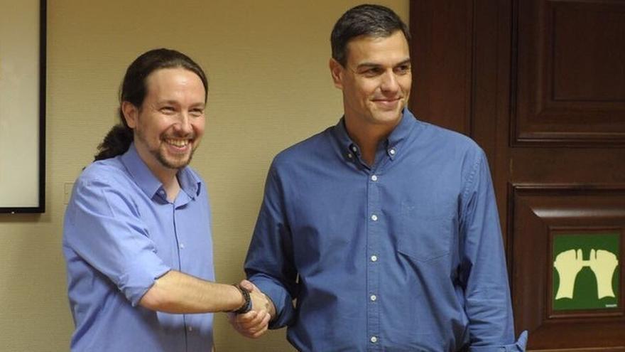 Sánchez se reúne este jueves con Iglesias en La Moncloa tras lograr un principio de acuerdo para los Presupuestos