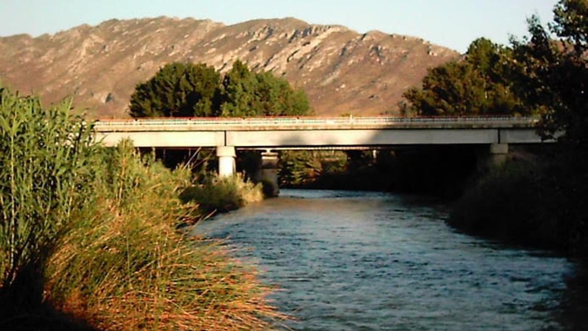 El Río Segura a su paso por Calasparra