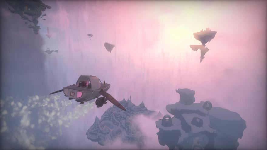 En Worlds Adrift las modificaciones en el entorno afectan a todos los jugadores y perduran en el tiempo