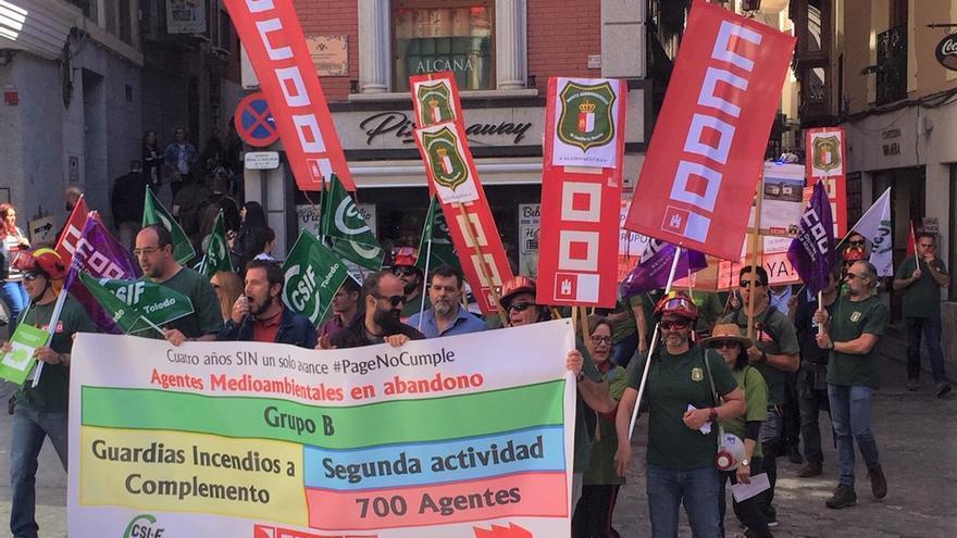 Manifestación agentes medio ambientales