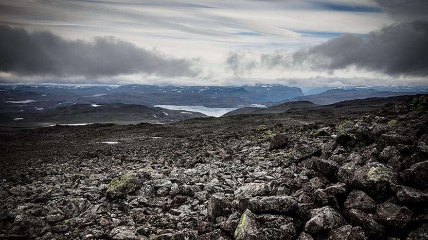 Monte Halti en Noruega // Flickr: Jannok