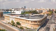 Vista panorámica del edifico Docks
