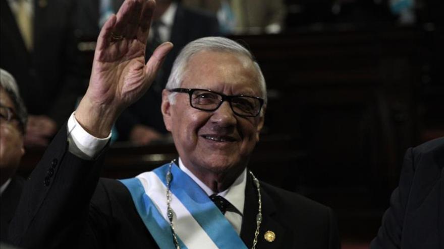 Alejandro Maldonado Aguirre jura como nuevo presidente de Guatemala