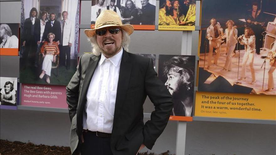 Barry Gibb recibirá en Londres un homenaje a toda su carrera
