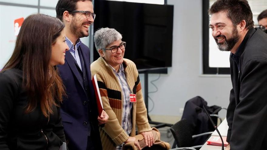 "Garzón apremia a no esperar ""al último momento"" para la alianza de izquierdas"