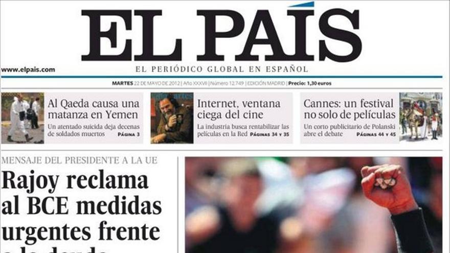 De las portadas del día (22/05/2012) #7