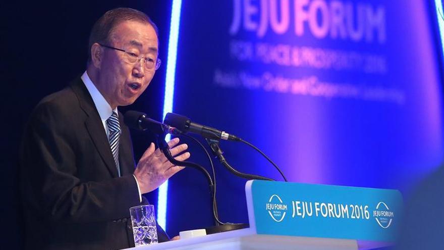 Ban Ki-moon insta a Seúl y Pyongyang a retomar el diálogo