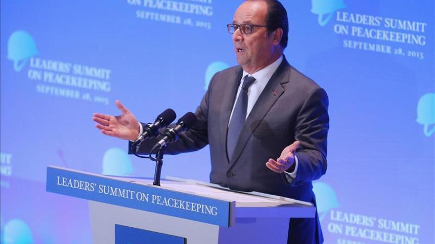 Hollande pide una nueva directiva europea sobre los trabajadores desplazados