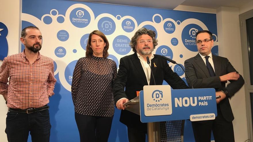 """Demòcrates firma el acuerdo para ir con ERC-CatSí: """"Es lo que más se parece a una lista transversal"""""""