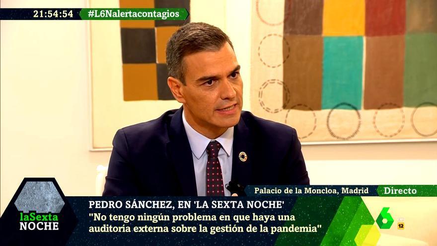 Pedro Sánchez en 'laSexta Noche'