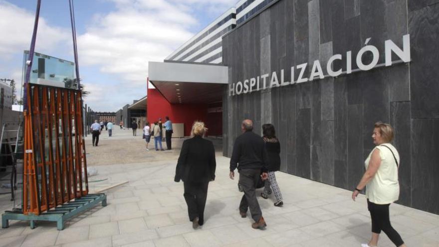 El Hospital Universitario Central de Asturias.