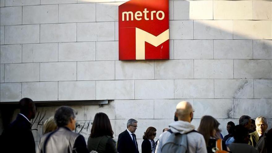 El metro de Lisboa funciona con normalidad pese a la huelga