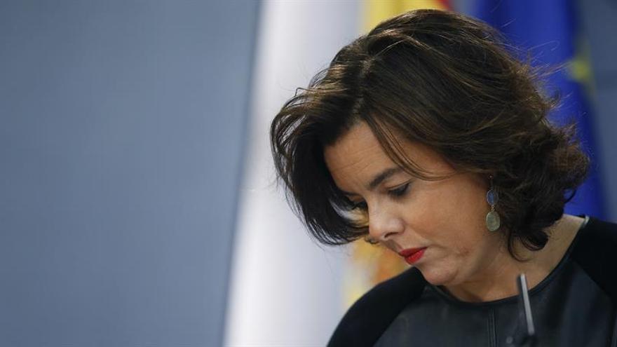 Santamaría:Lo que quiere Puigdemont no se puede lograr con cualquier Gobierno