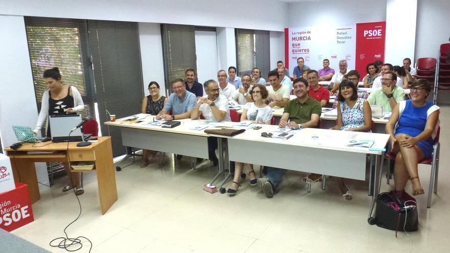 Los alcaldes y alcaldesas del PSOE murciano harán públicas sus agendas