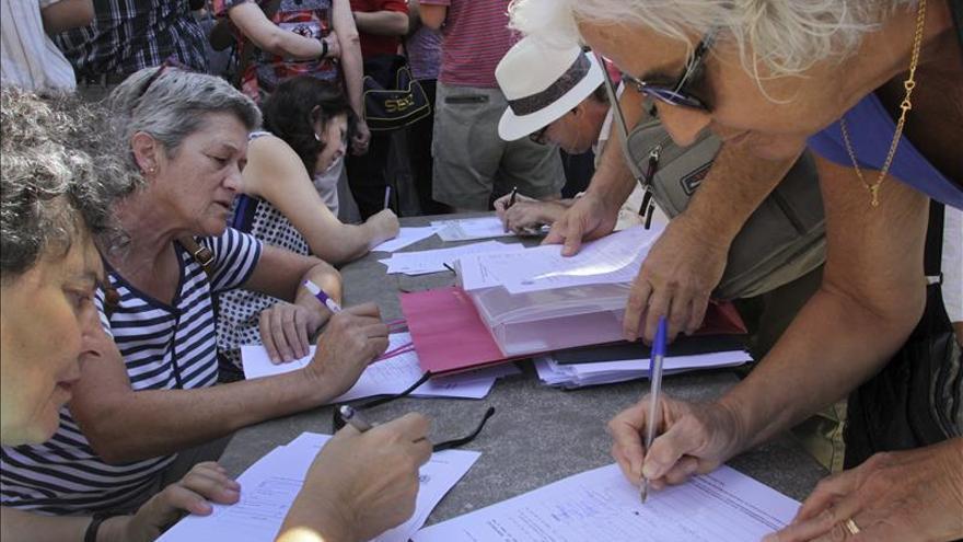 La piquete condenada por huelga formaliza una petición de indulto con 19.000 apoyos