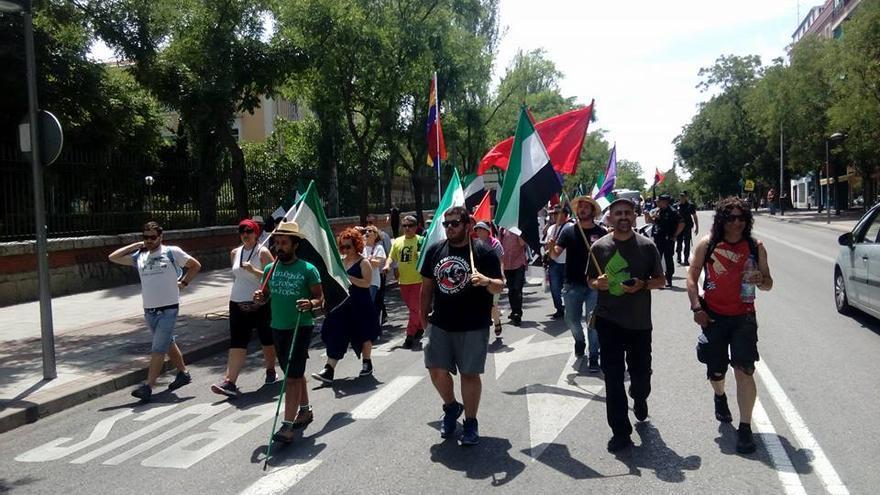 Marchas Dignidad Extremadura columna