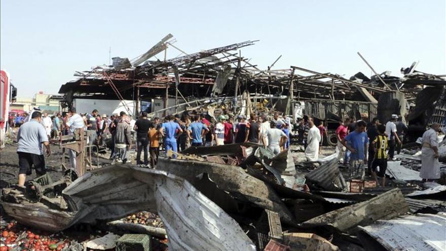 Al menos 14 muertos y 50 heridos en dos atentados en el centro de Bagdad