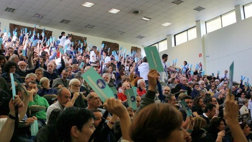 Votación en el plenario de En Marea