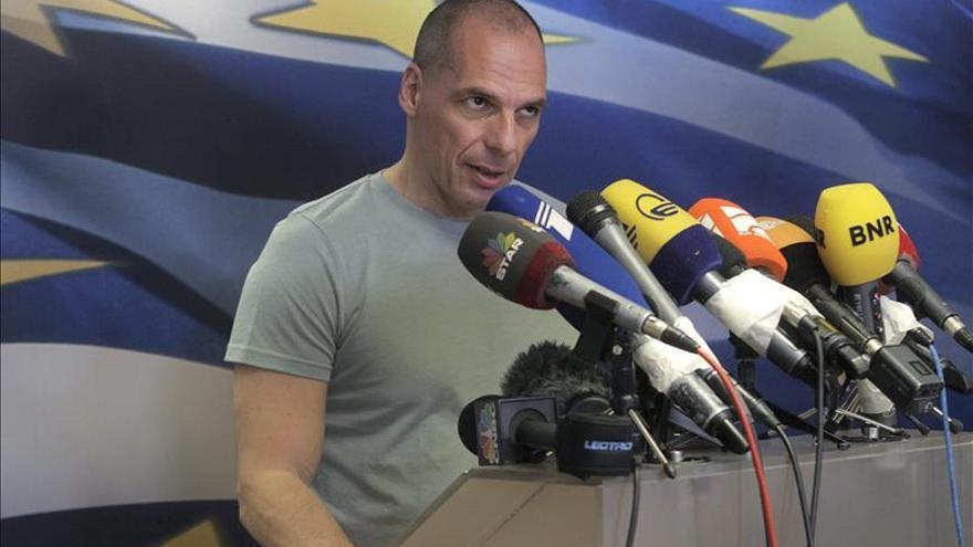 Yanis Varufakis en una imagen de archivo. / Foto: EFE